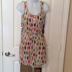 Like New, Forever 21 Multi-Colored Sun Dress